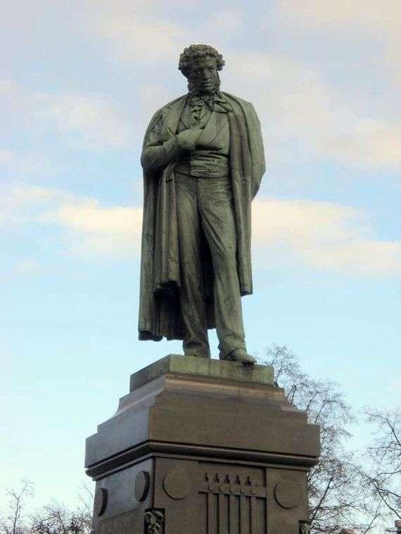 Описание памятника Александру Пушкину в Москве
