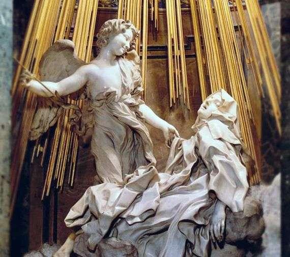 Описание скульптуры Джованни Бернини «Экстаз святой Терезы»