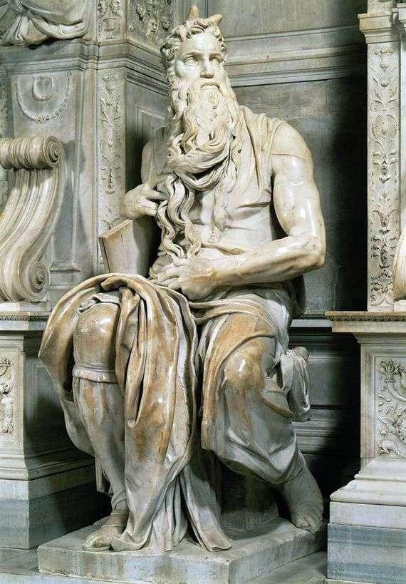 Описание скульптуры Микеланджело Буанарроти «Моисей»