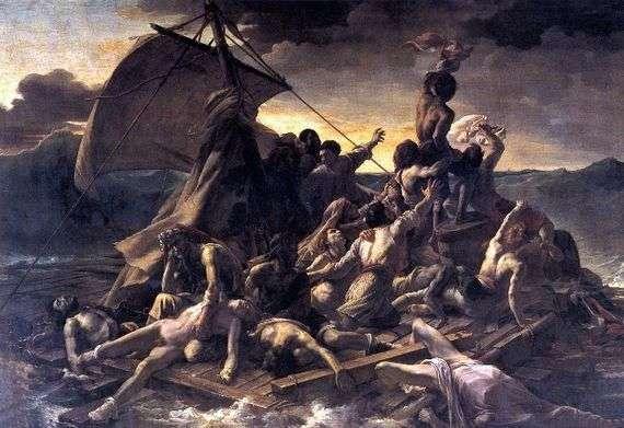 Описание картины Теодора Жерико «Плот Медузы»