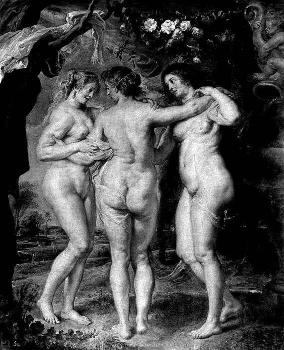 Описание картины Питера Рубенса «Три грации»