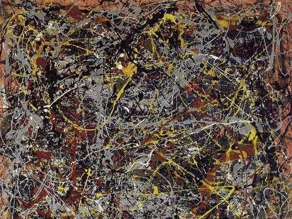 Описание картины Пола Джексона Поллока «Номер 5, 1948»