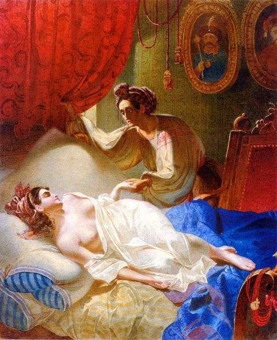 Описание картины Тараса Шевченко «Мария»