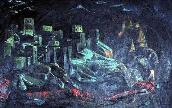 Описание картины Николая Рериха «Град обреченный»