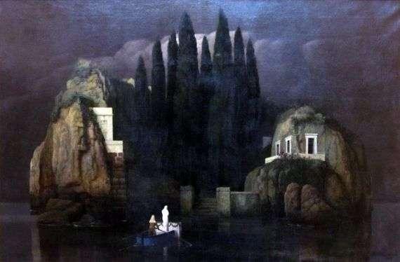 Описание картины Арнольда Беклина «Остров мертвых»