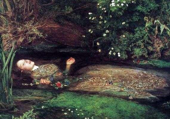 Описание картины Джона Милле «Офелия»