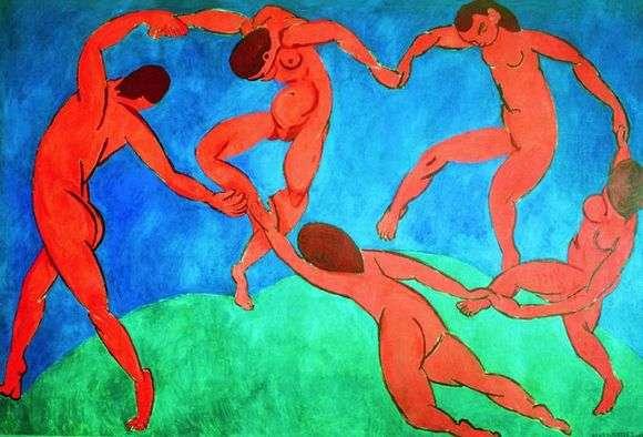Описание картины Анри Матисса «Танец»