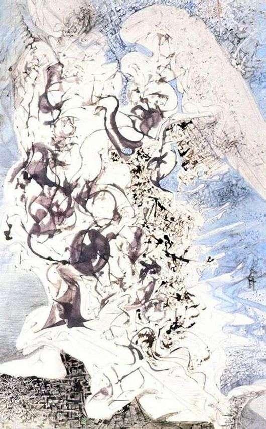 Описание картины Сальвадора Дали «Ангел»