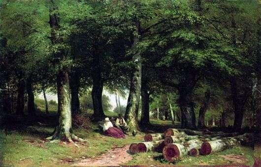 Описание картины Ивана Шишкина «В роще»