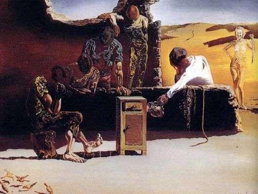 Описание картины Сальвадора Дали «Кардинал»