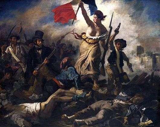 Описание картины Эжена Делакруа Свобода, ведущая народ (Свобода на баррикадах)