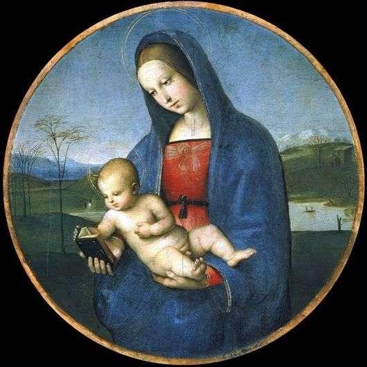 Описание картины Рафаэля Санти «Мадонна с младенцем» (Мадонна Конестабиле)