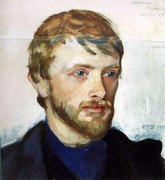 Описание картины Серебряковой «Портрет Б. А. Серебрякова»