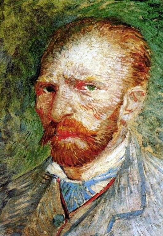 Описание картины Винсента Ван Гога «Автопортрет»