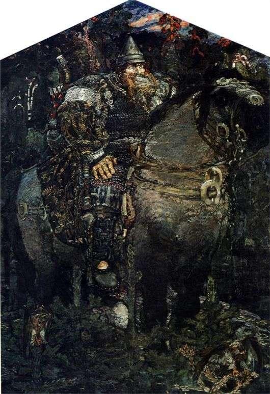 Описание картины Михаила Врубеля «Богатырь»