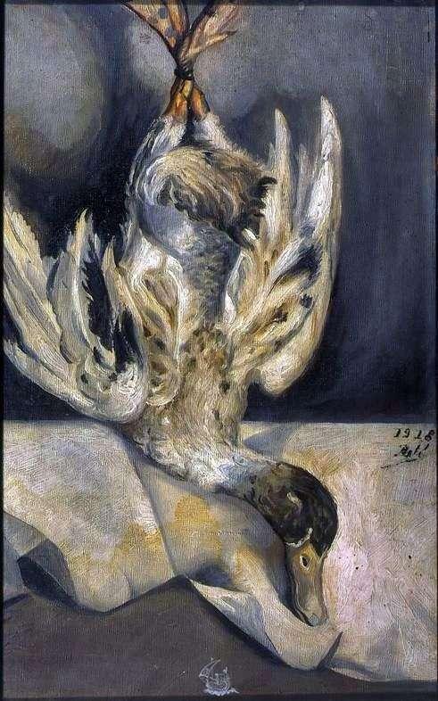 Описание картины Сальвадора Дали «Утка»