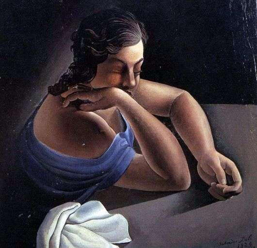 Описание картины Сальвадора Дали «Размышление»