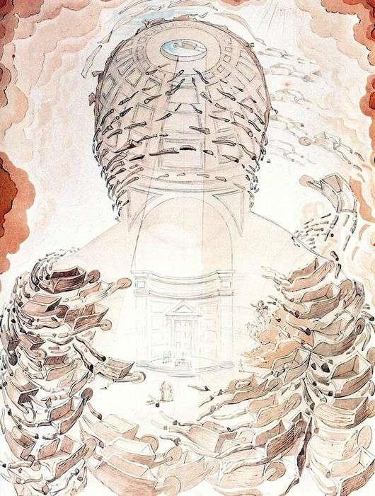 Описание картины Сальвадора Дали «Тачки»