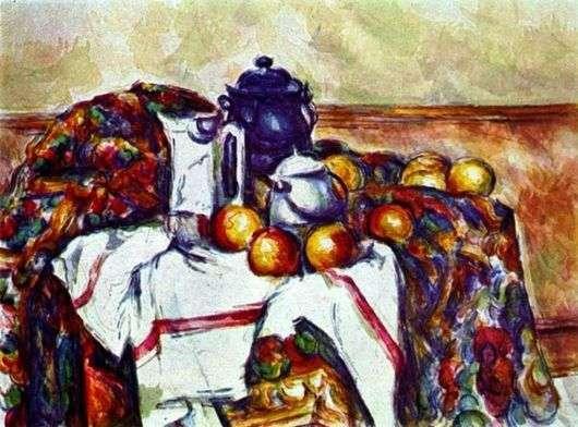 Описание картины Поля Сезанна «Натюрморт»