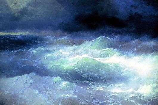 Описание картины Ивана Айвазовского «Волна»