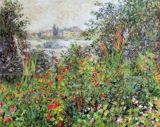 Описание картины Клода Моне «Цветы»