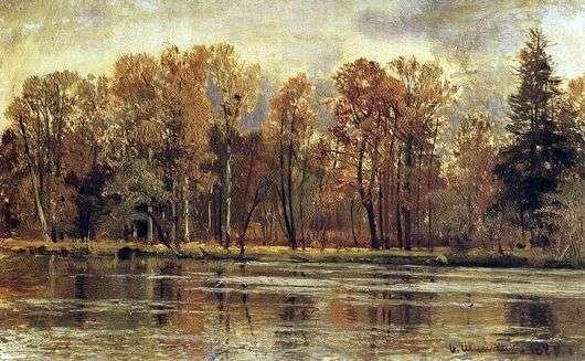 Описание картины Ивана Шишкина «Золотая осень»