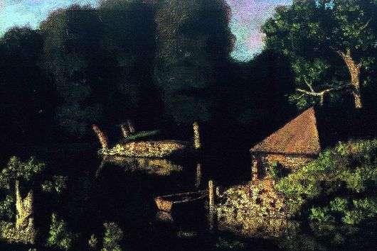 Описание картины Николая Крымова «Вечер»