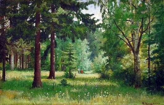 Описание картины Ивана Шишкина «Дети в лесу»