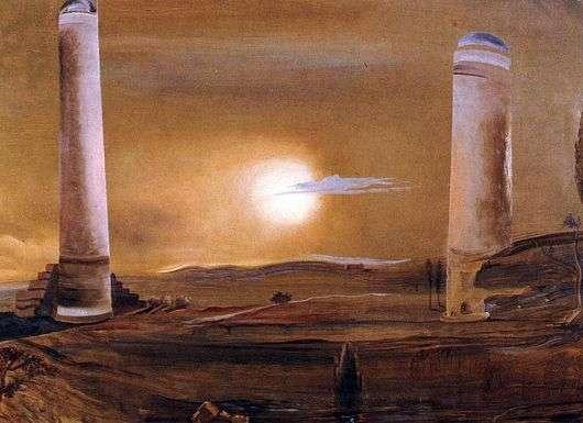 Описание картины Сальвадора Дали «Башни»
