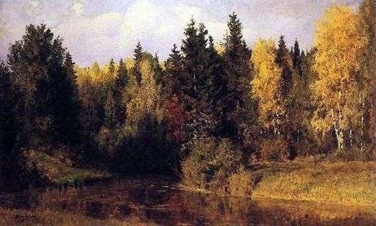 Описание картины Василия Поленова «Осень в Абрамцеве»
