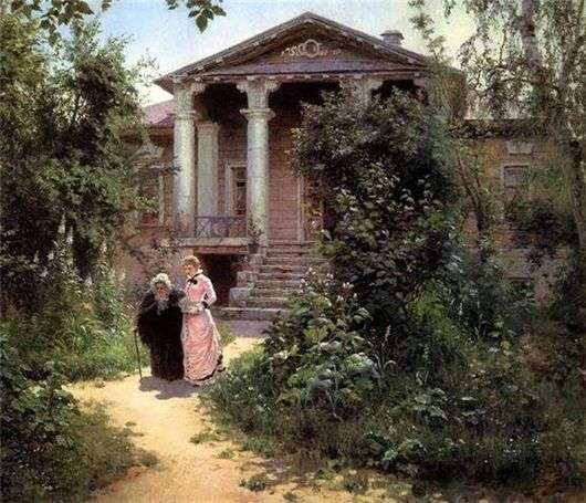 Описание картины Василия Поленова «Бабушкин сад»