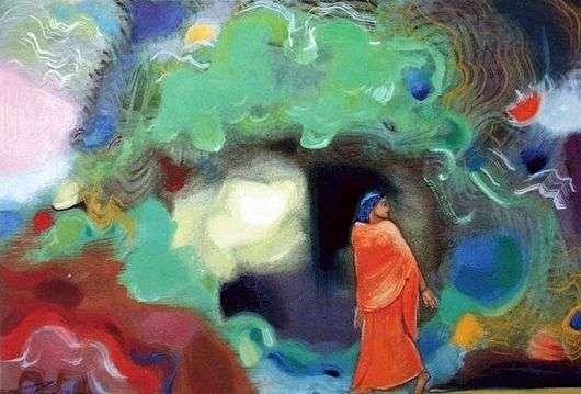 Описание картины Николая Рериха «Мой дом»