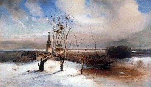 Описание картины Алексея Саврасова «Грачи прилетели»