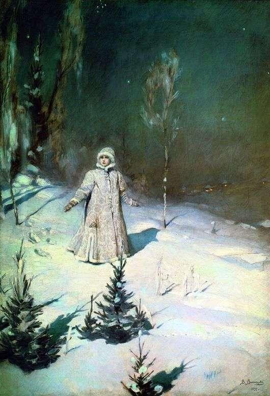 картина снегурочка:
