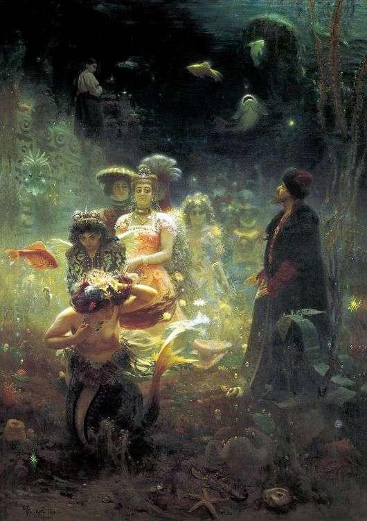 Описание картины Ильи Репина «Садко»