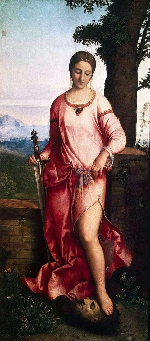 Описание картины Джорджоне «Юдифь»