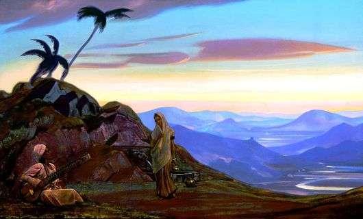Описание картины Святослава Рериха «Индия»