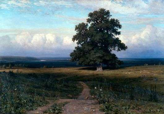 Описание картины Ивана Шишкина «Среди долины ровныя»