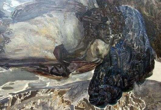 Описание картины Михаила Врубеля «Демон летящий»