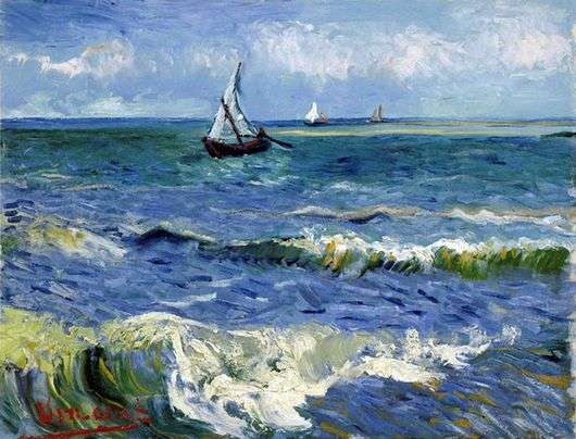 Описание картины Винсента Ван Гога «Лодки в море»