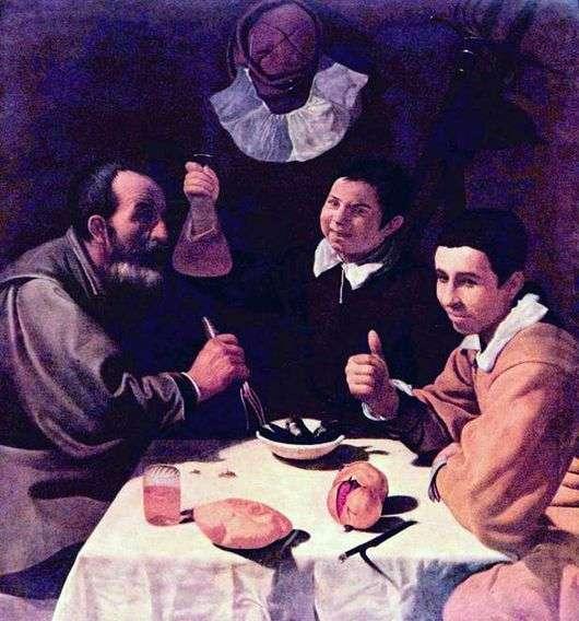Описание картины Диего Веласкеса «Завтрак»