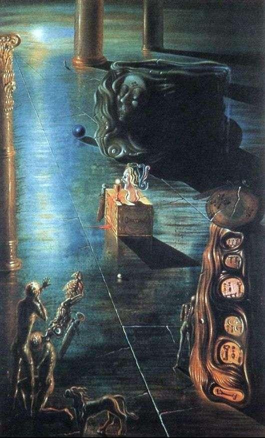 Описание картины Сальвадора Дали «Фонтан»