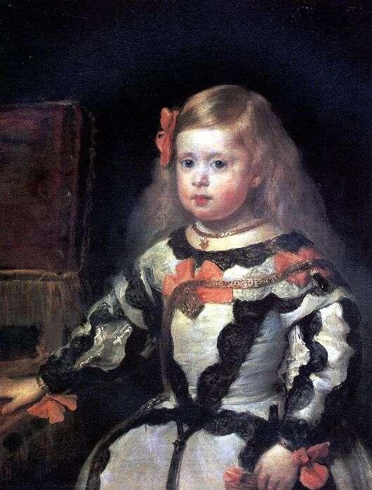 Описание картины Диего Веласкеса «Портрет инфанты Маргариты, дочери Филиппа IV»