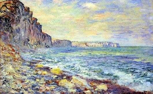 Описание картины Клода Моне «У моря»