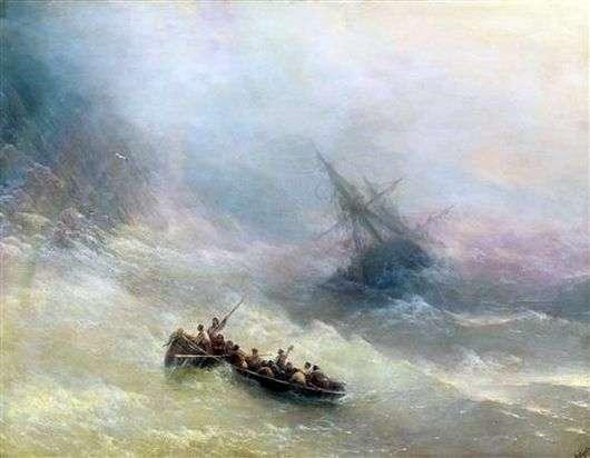 Описание картины Ивана Айвазовского «Радуга»