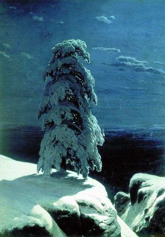 Описание картины Ивана Шишкина «На севере диком»