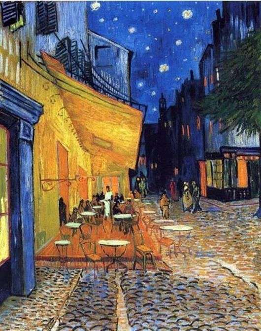 Описание картины Винсента Ван Гога «Терраса кафе»