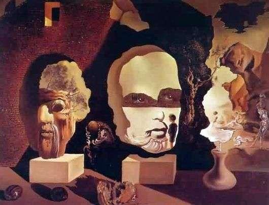 Описание картины Сальвадора Дали «Три возраста»
