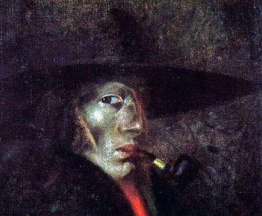 Описание картины Сальвадора Дали «Автопортрет»