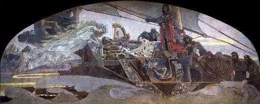 Описание картины Михаила Врубеля «Принцесса Греза»